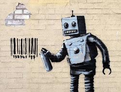 banksy's robot