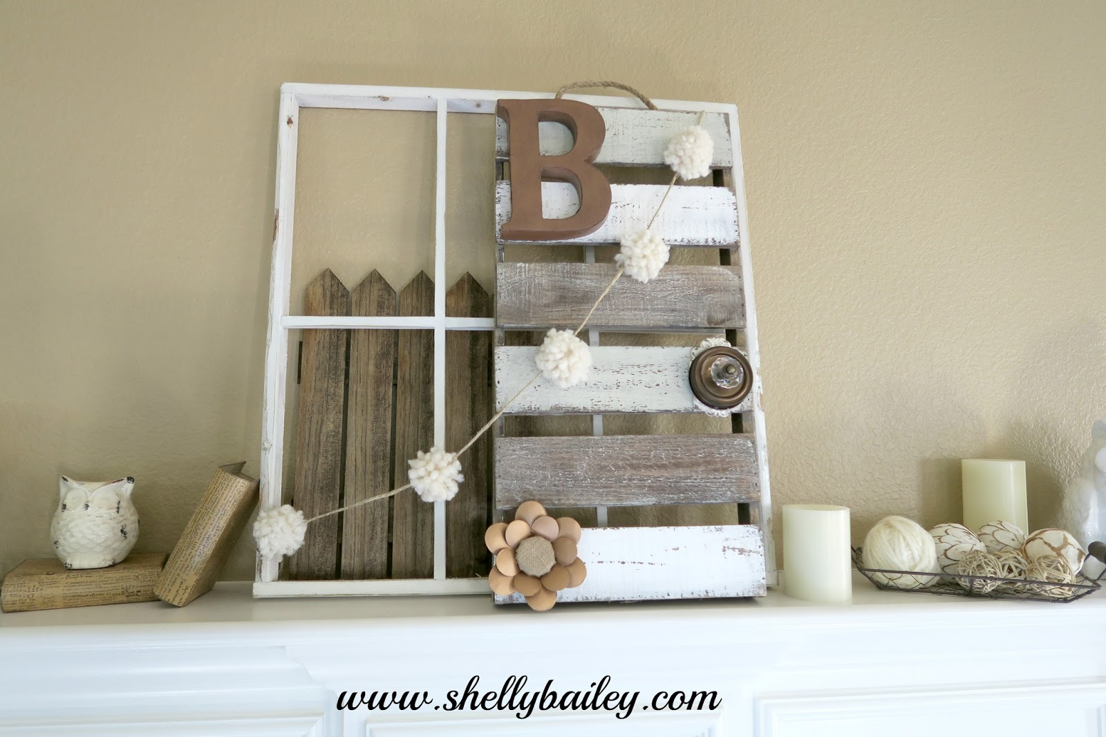 Shelly Bailey Diy Neutral Home Decor Piece And My Winter