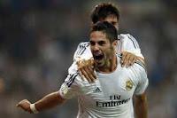 Isco rescató al Real Madrid en el Bernabéu en el minuto 86