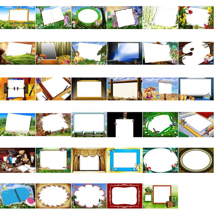 ... Template PSD PhotoShop PSD Anak, Baju Jas, Frame, Bingkai Gambar Lucu