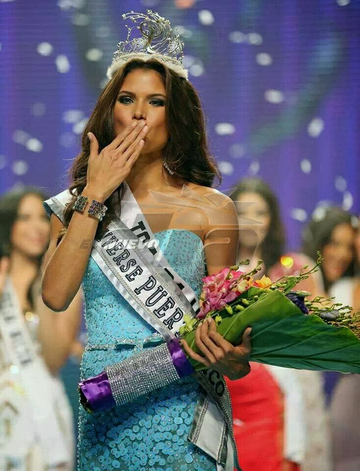 Miss Universe 2014 Winner Name Winning kisses: miss universe