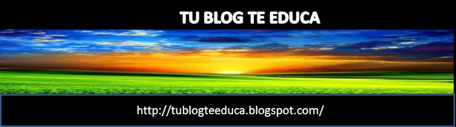 TU BLOG TE EDUCA.COM