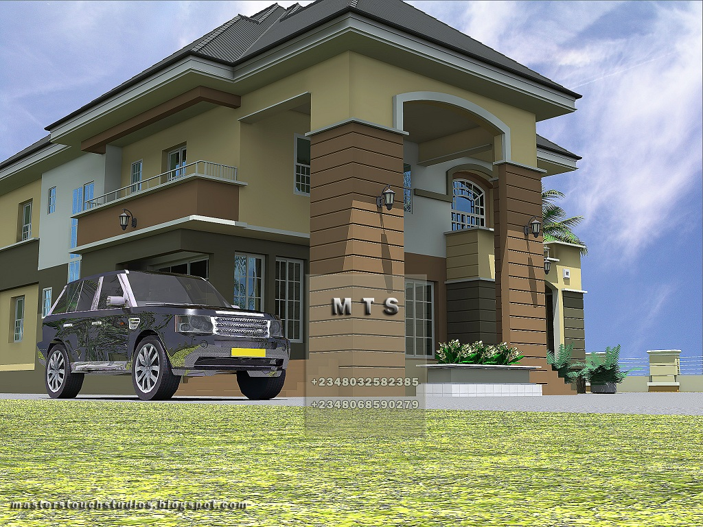 4 bedroom duplex residential homes and public designs for Four bedroom duplex plan
