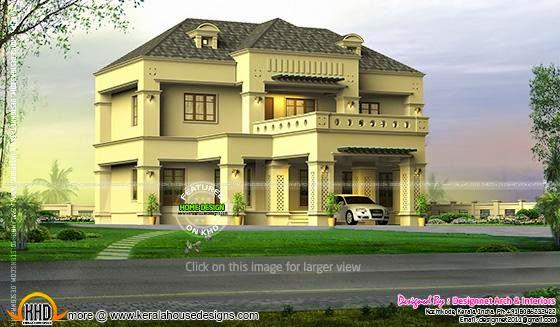 Villa 3d visual