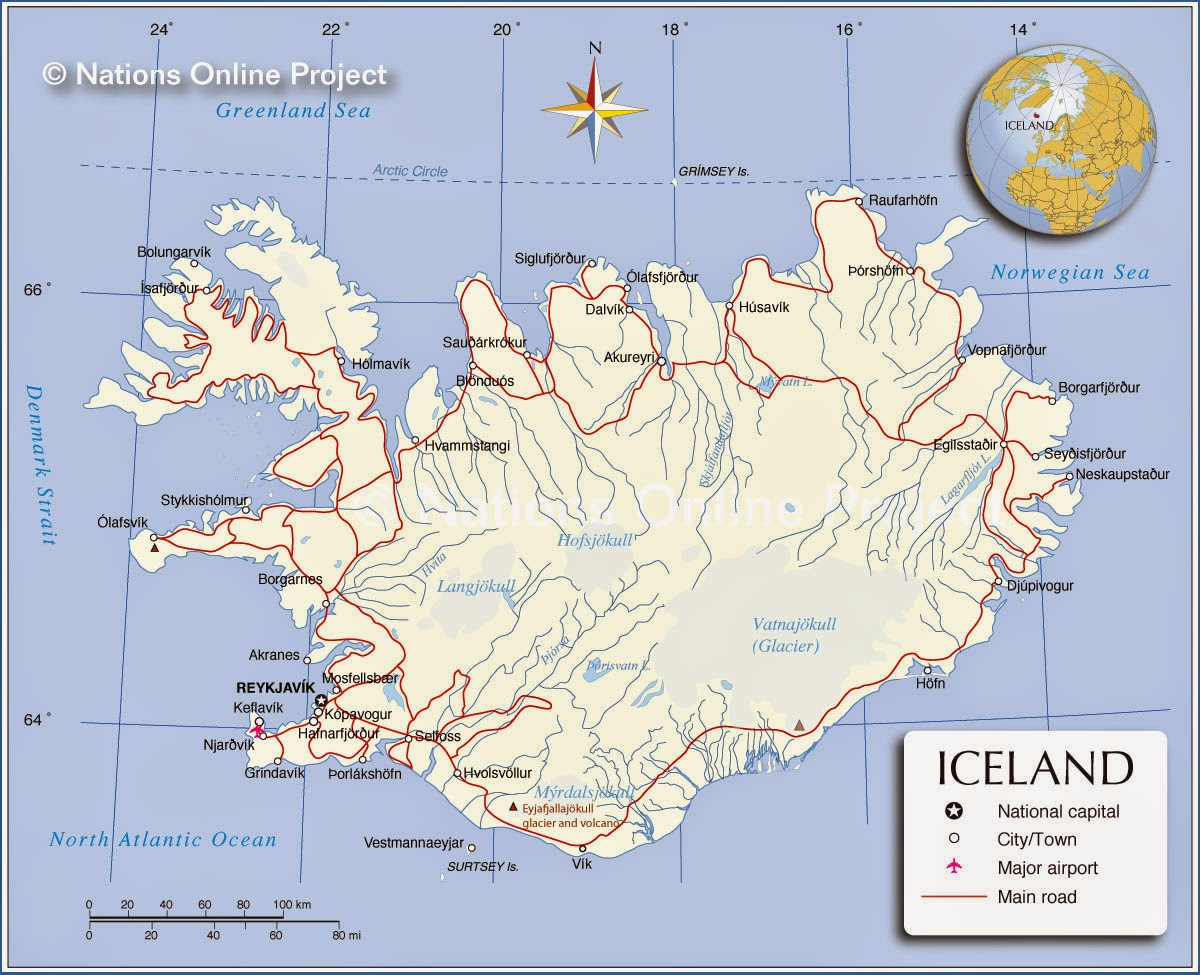 Lets Nailed The World Iceland The Land Of Elves Trolls Ghosts - Iceland latitude