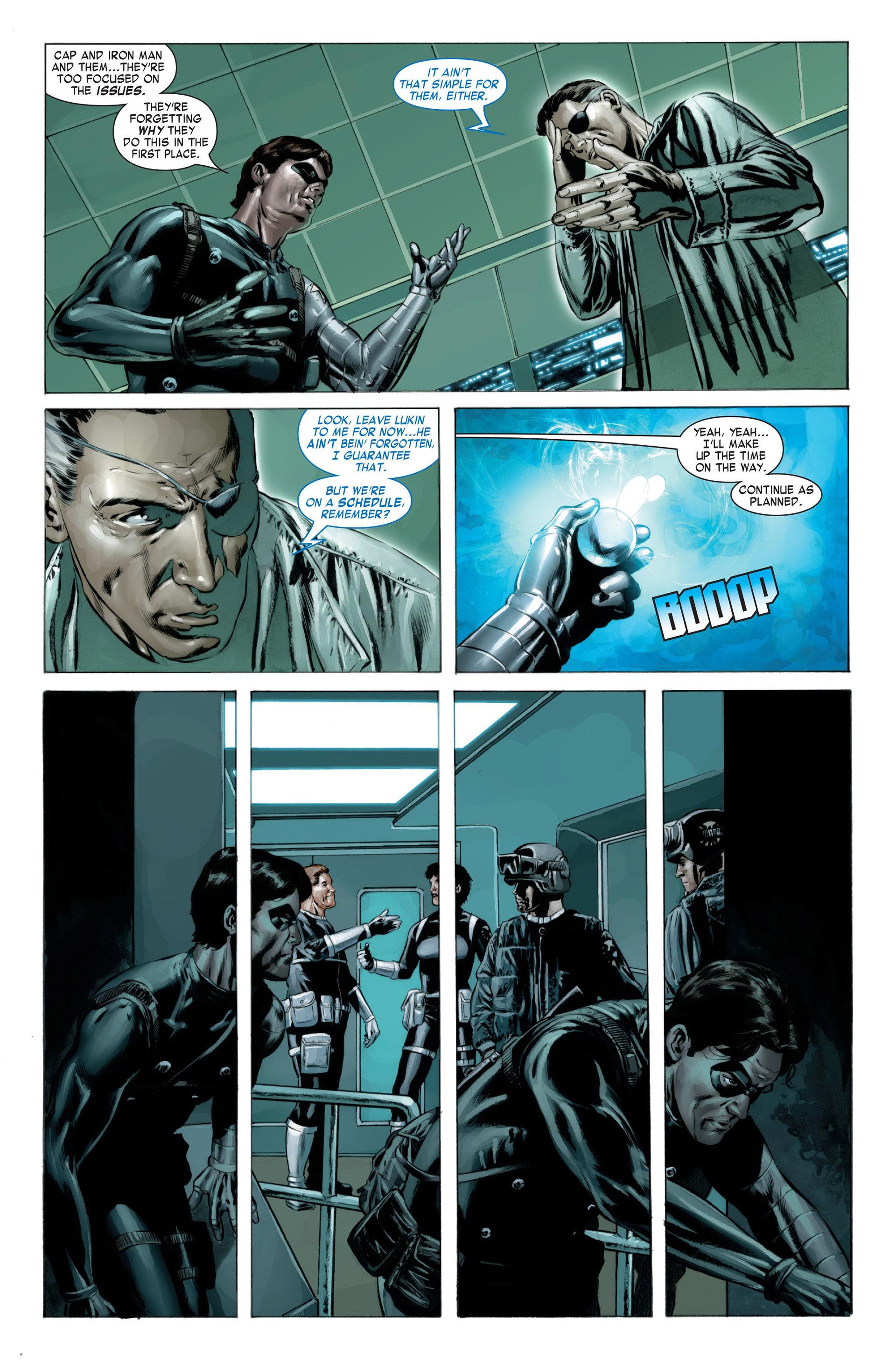 Captain America (2005) Issue #23 #23 - English 14