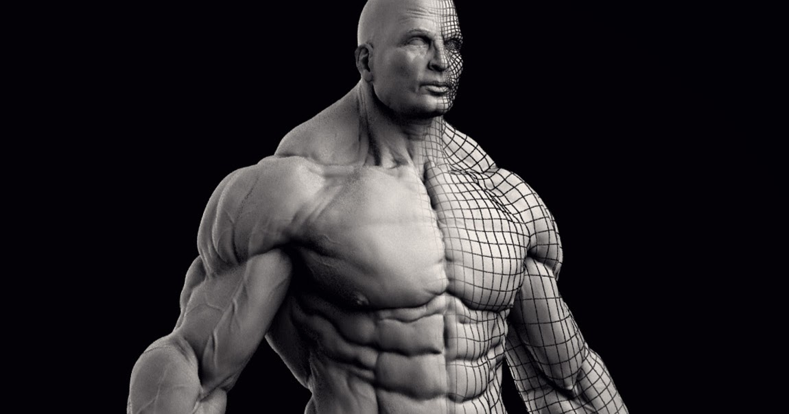 Luca Nemolato - Official Blog: Extreme Bodybuilder - vray