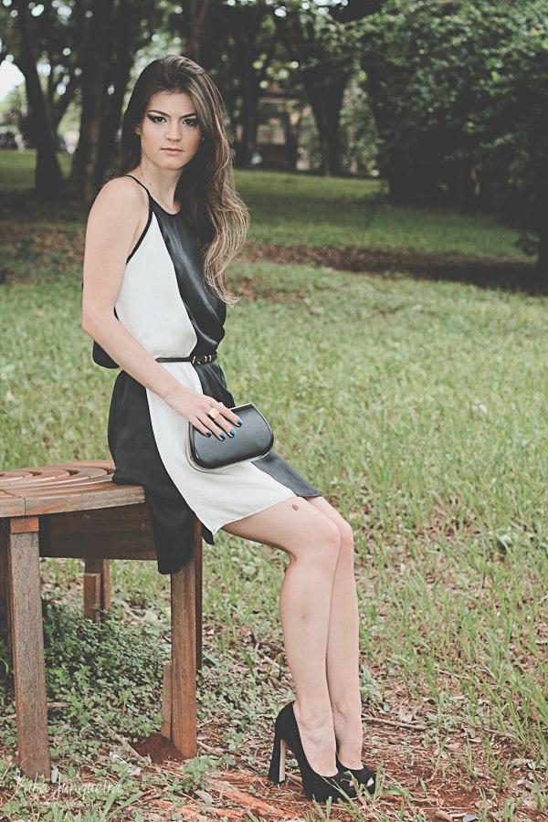 preto e branco na moda