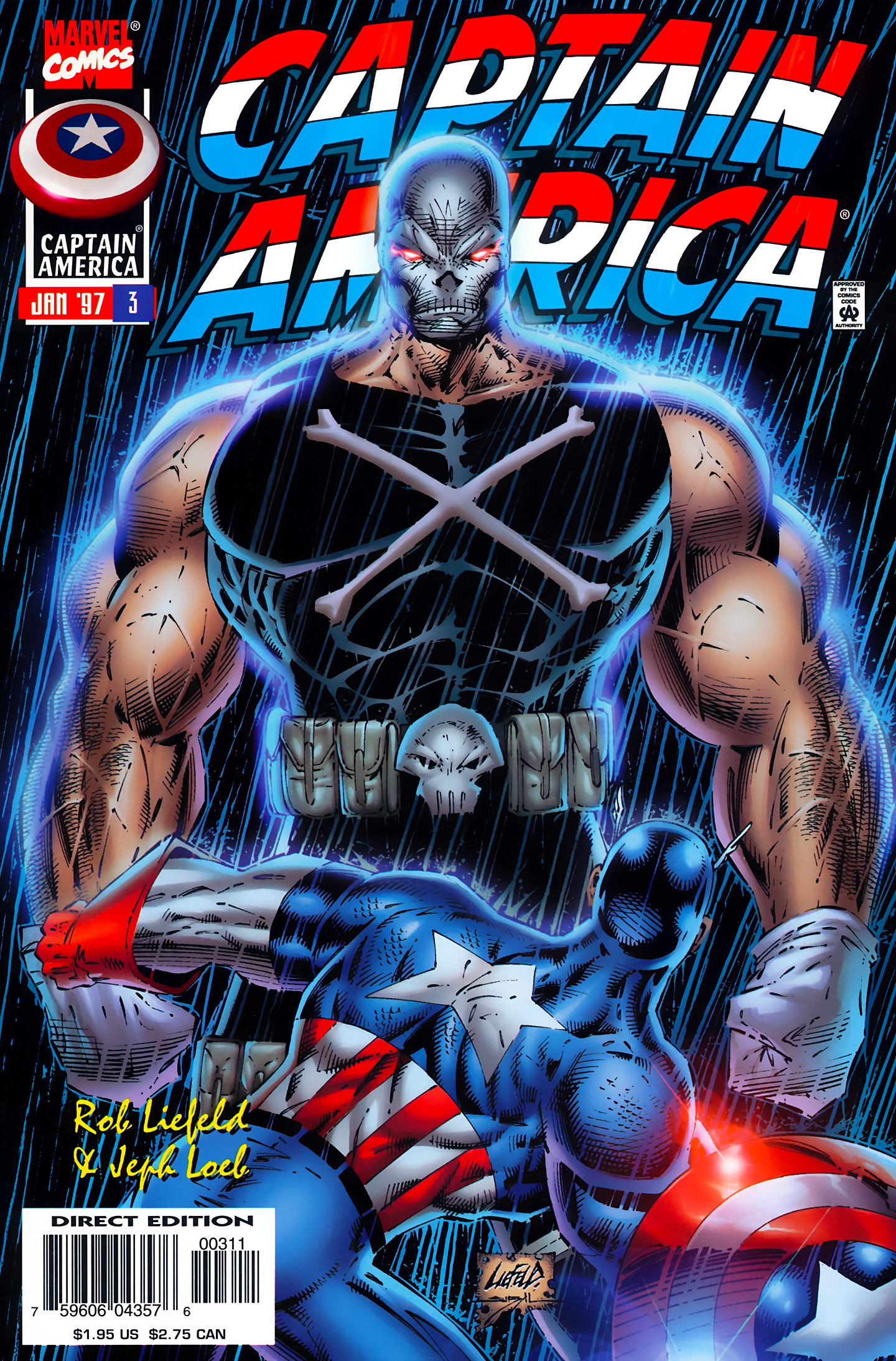 Captain America (1996) Issue #3 #3 - English 1