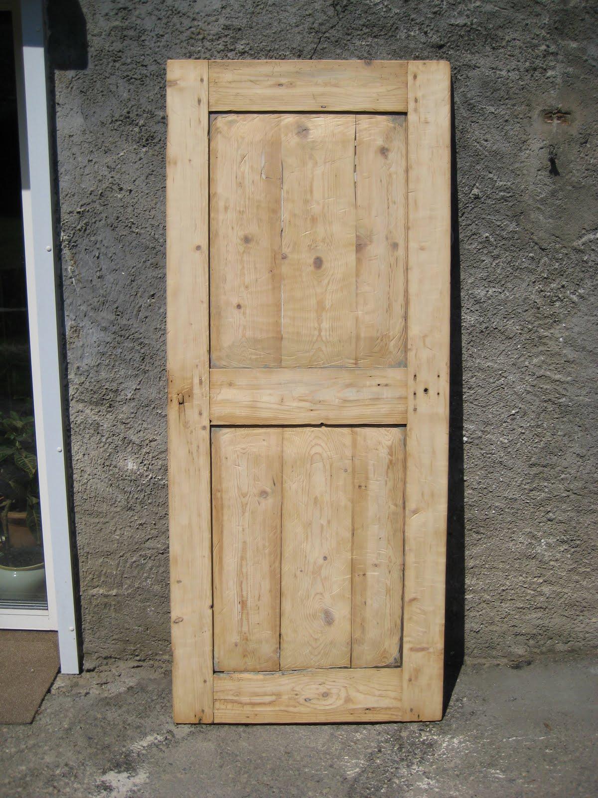 Notre petit coin de paradis la petite histoire d 39 une porte - Fabriquer une porte de grange ...