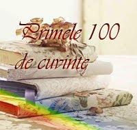 Primele 100 de cuvinte