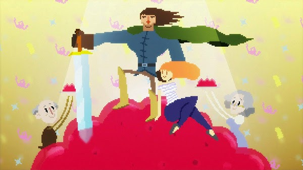 cute pixel art video
