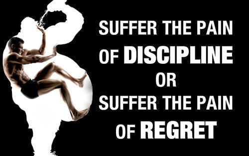 discipline and exercise