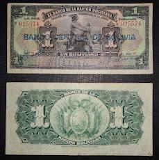 Bolivia 1911 - Un Boliviano