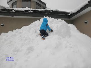 muita neve no Japão