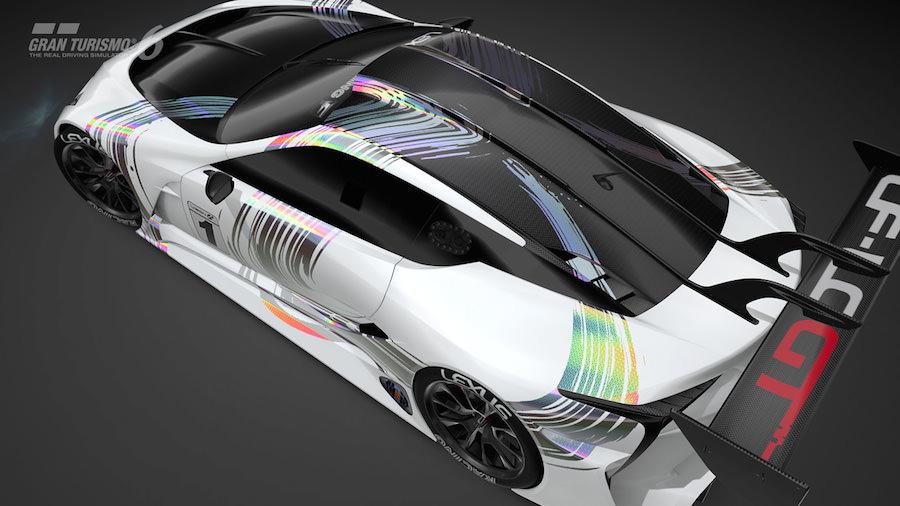"""レクサスがGT6向けのコンセプトカー「LF-LC GT """"Vision Gran Turismo""""」を発表。"""
