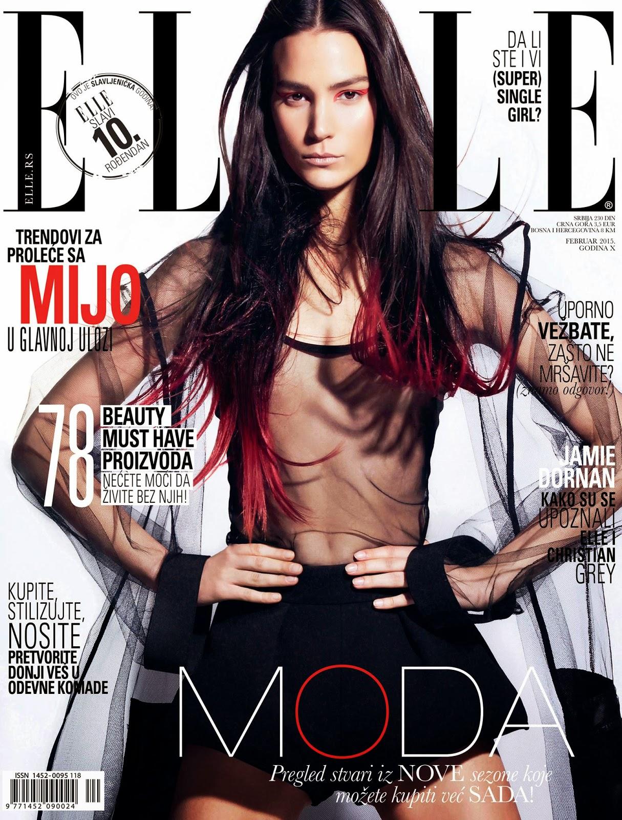 Model: Mijo Mihaljcic - Elle, Serbia, February 2015