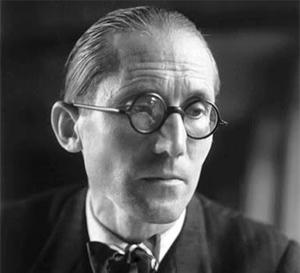 Retrato Le Corbusier