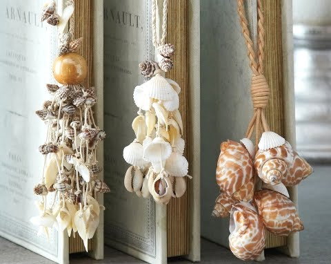 shell tassels