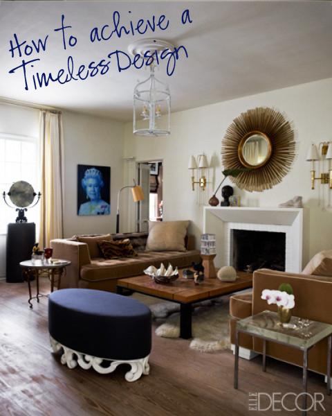 Elle decor, eclectic design, living, twine interiors