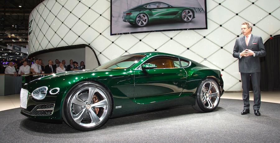 未来のベントレー?新型の2シーターコンセプトカー「EXP10スピード6」を公開