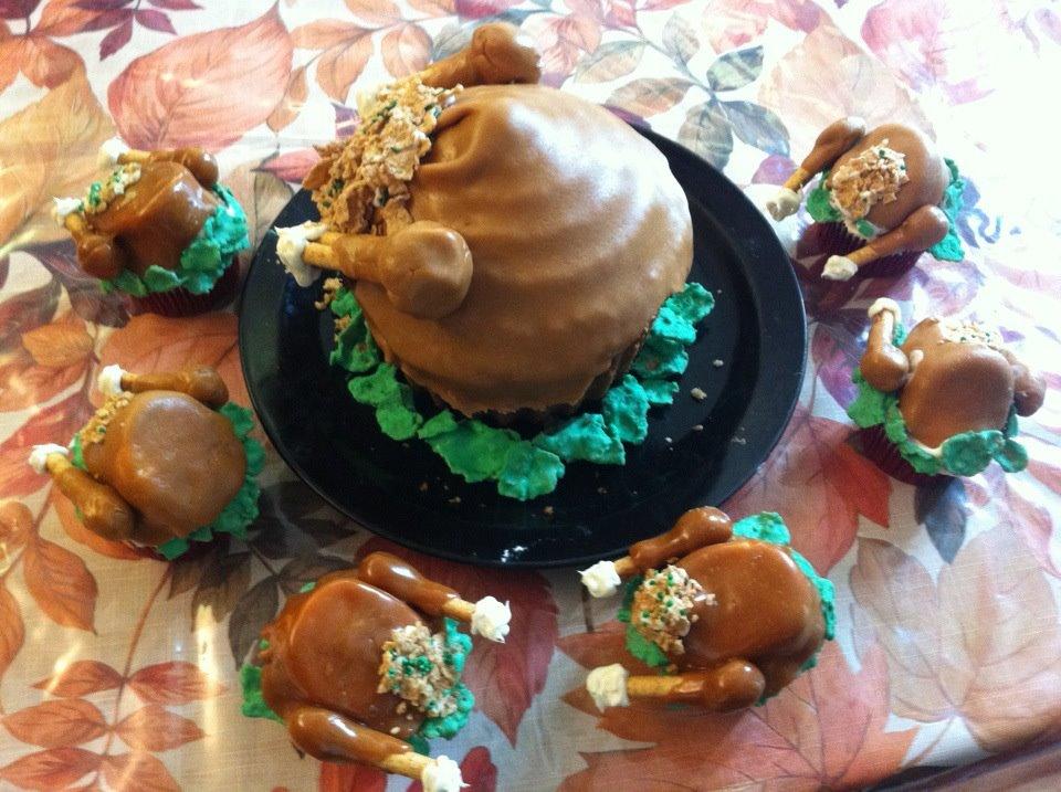 large cupcake pan instructions