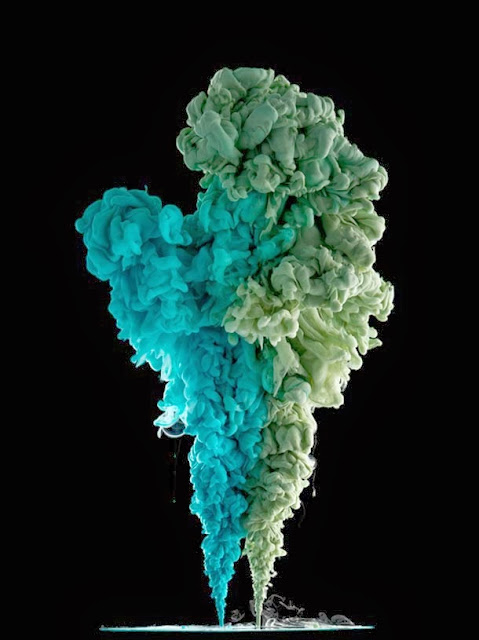Color Explosion Photography by Marcel Christ