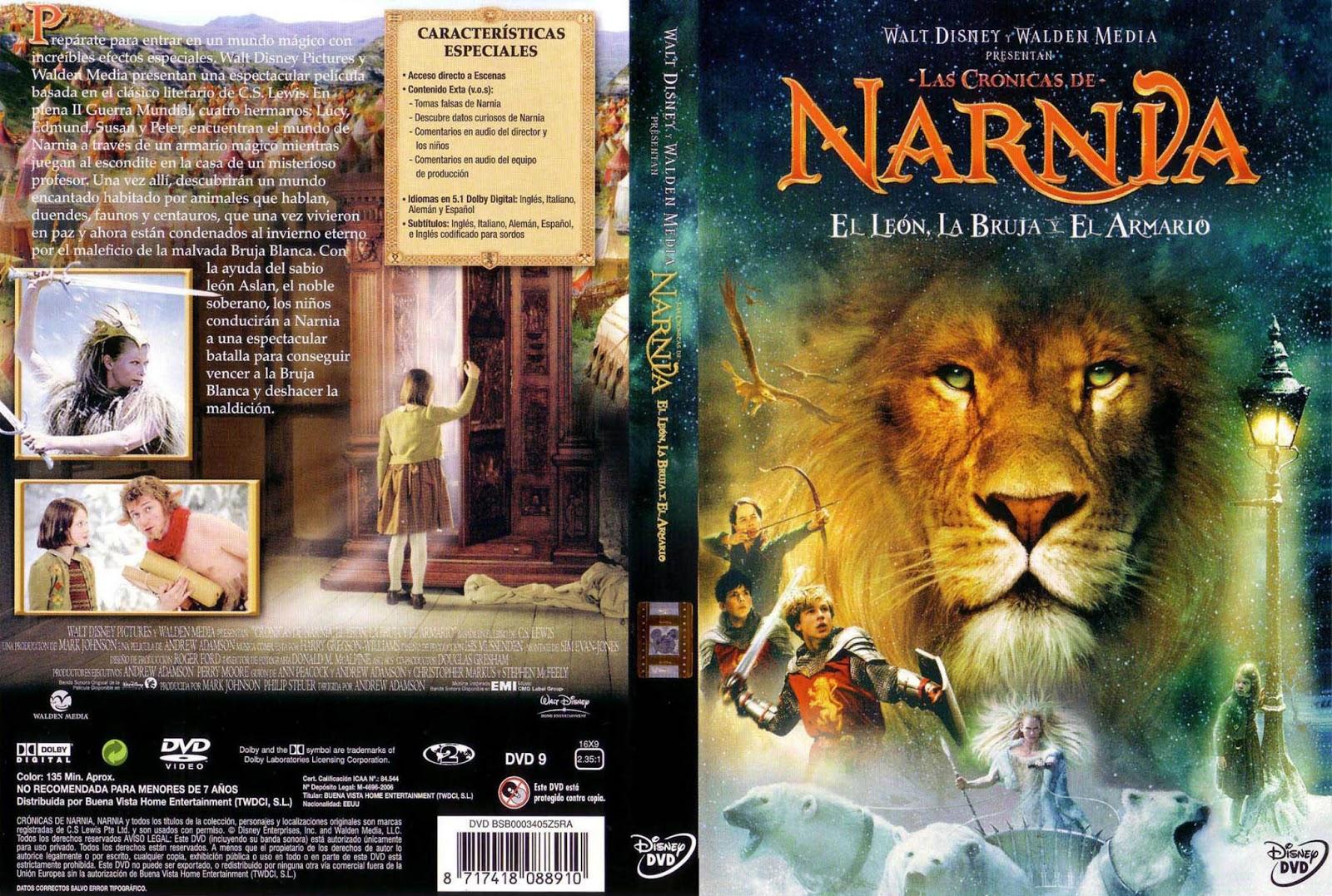 Las Cronicas De Narnia El Leon, La Bruja y el Armario DVD