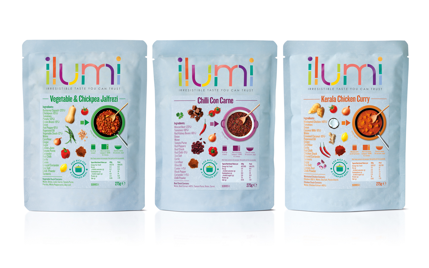 Ilumi On Packaging Of The World Creative Package Design