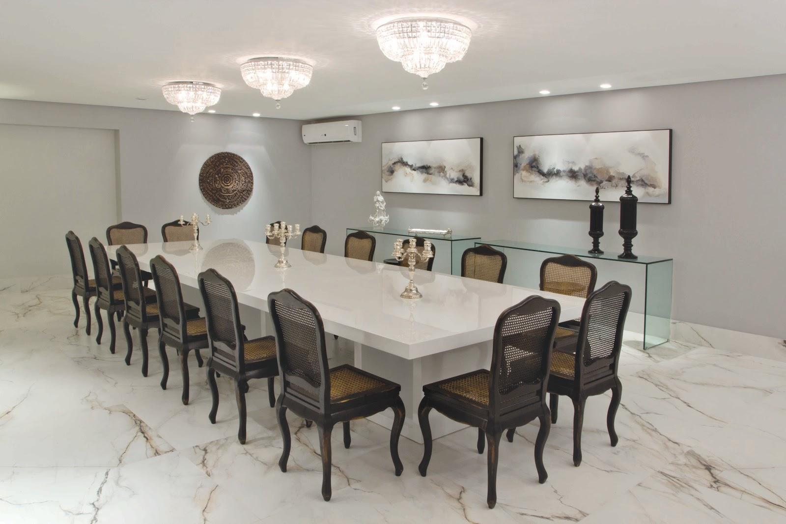 decoracao de sala luxo:Sala De Jantar