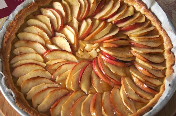 karine cuisine la tarte aux pommes
