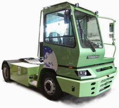 Primul camion electric de 40 de tone pentru transport pe trasee urbane