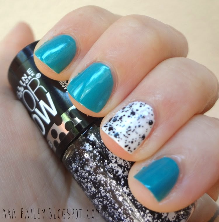 ORLY Bailamos nail polish with Color Show Polka Dots Clearly Spotted polish