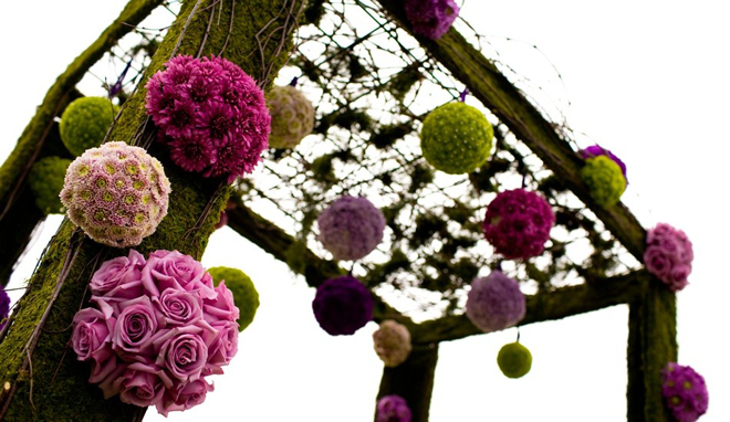 hanging wedding decorations part 3 belle the magazine