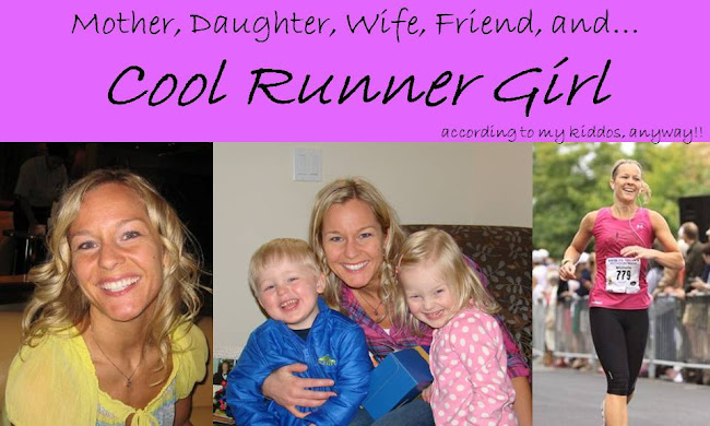 Cool Runner Girl... according to my kiddos, anyway!!