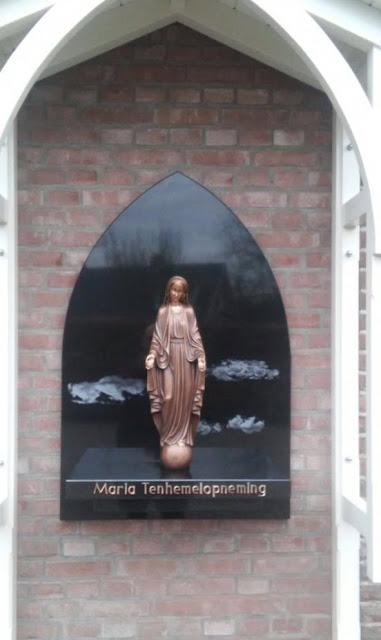 bronzen Mariabeeld, Mariabeeld van brons