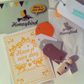Cadeautje voor Meet the Tweet van Miss Honeybird