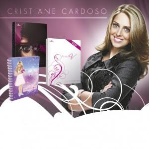 Os livros da Dna Cristiane Cardoso
