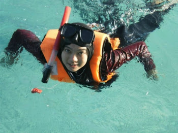 i'm scuba diving