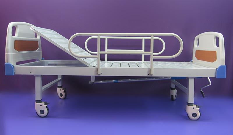 10. ABS hospital bed manual single fowler 手动單搖床 家居護理床 ABS床頭床尾板 Katil rumah pesakit ABS satu lipat