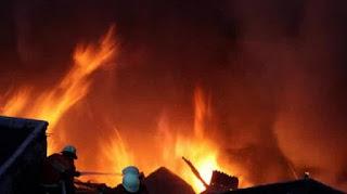 Tiga Rumah Terbakar, Hanya Karena Televisi