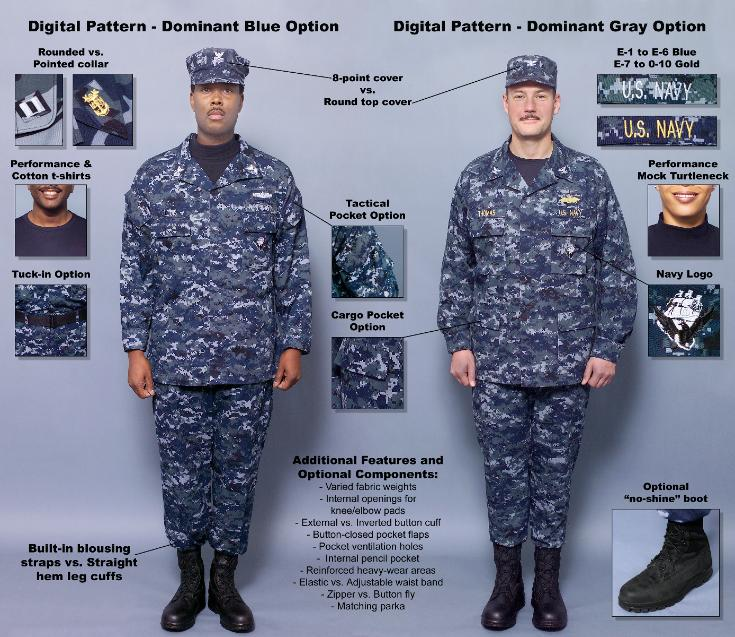 ... uniform not wearable a multicolored uniform alleviates those problems