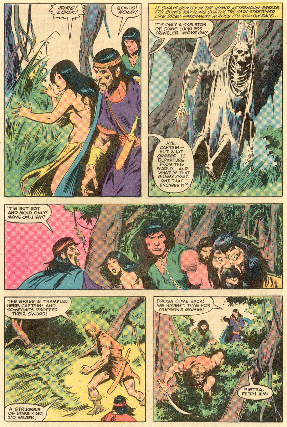 Conan the Barbarian (1970) Issue #140 #152 - English 17