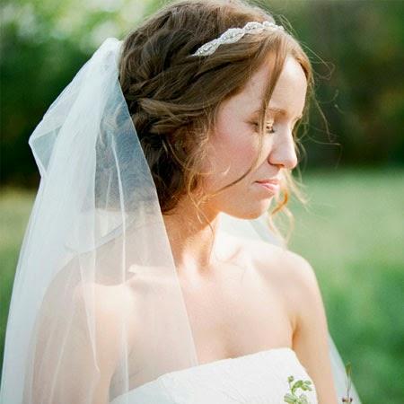 wedding hairstyles with veil  magazine wedding