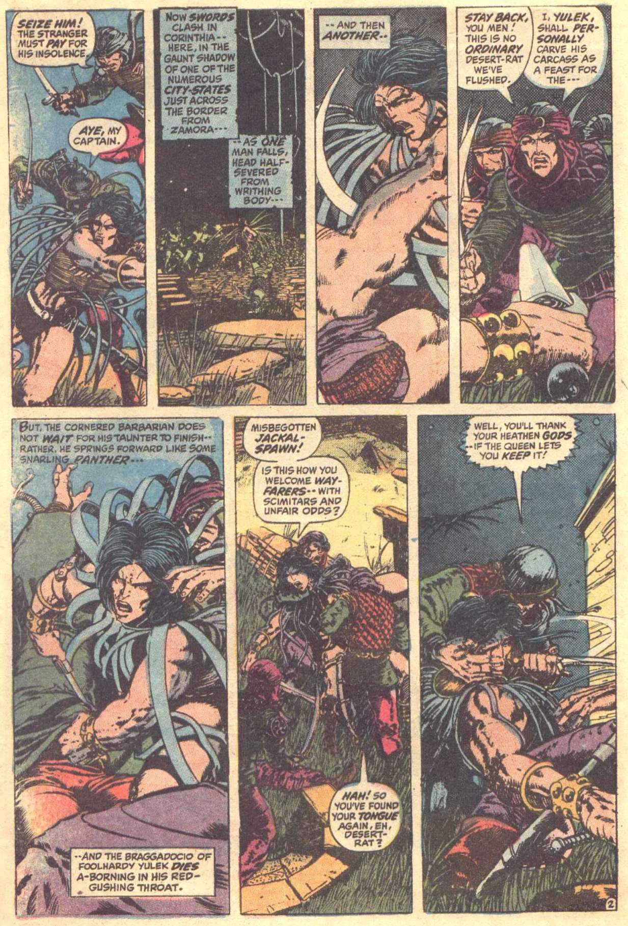 Conan the Barbarian (1970) Issue #12 #24 - English 3