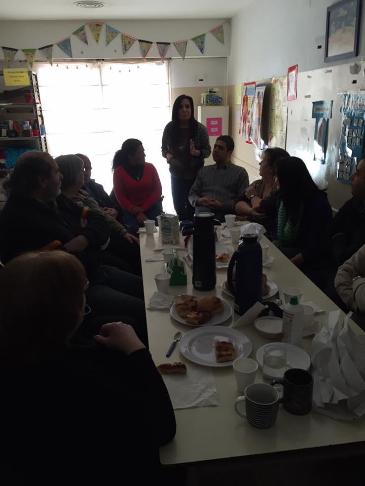 Desayuno y charla para familias