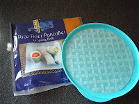 Blue Dragon rice flour pancakes