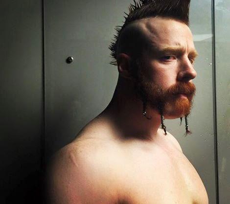 WWE Sheamus Beard Profile Picture