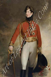 The Prince Regent, The pleasure-loving Prince George, later George IV, had been appointed Regent in 1811 after his father collapsed into insanity. 'Primly' soon attracted a group of fashionable wits and dandies who exploited his generosity and ridiculed his gluttony.