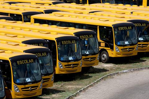 IPEM realiza inspeção de recebimento dos transportes escolares